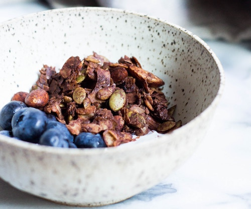 Spiced Cordyceps granola - to beat the winter chills and flu